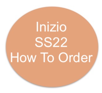 Inizio SS22 How to order