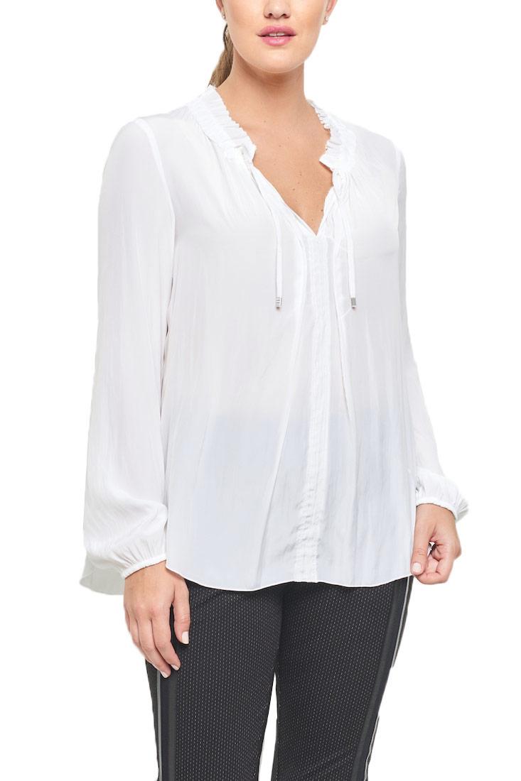 Beate-heymann-ruffle-blouse-basic-evergreen