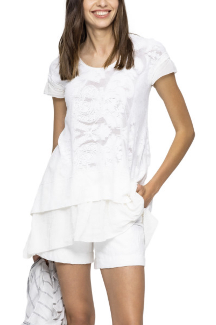 Beate Heymann Lace Look Tunic, Beate Heymann clothing