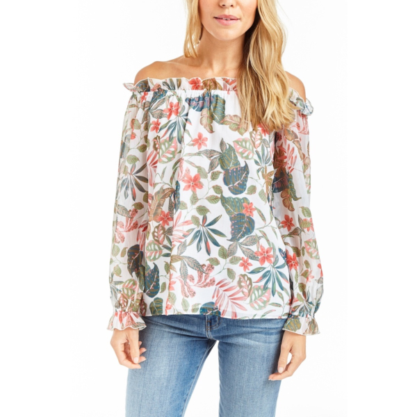DENISE Floral Blouse