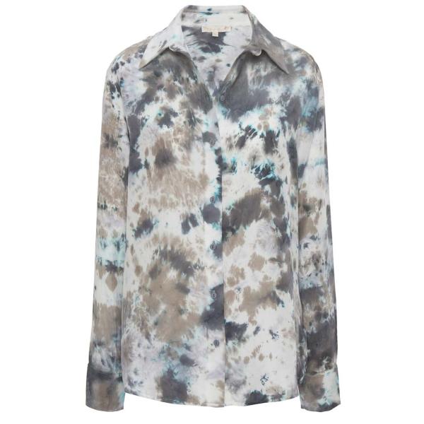 ELLA Tie Dye Button Shirt