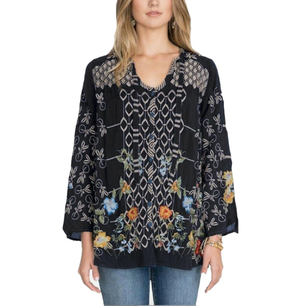 LUCA Embroidered Blouse