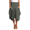 Inizio-linen-magic-skirt-1145-iron-green