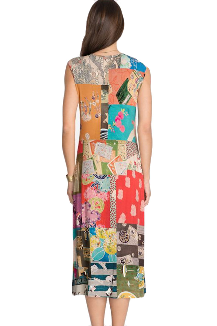 TOKYO Slit Midi Dress
