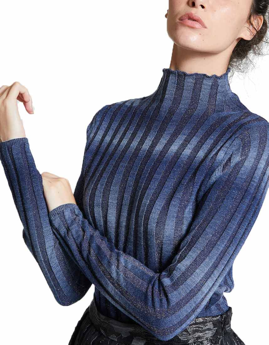 LUREX Ombre Sweater