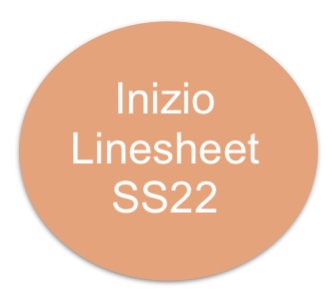 Inizio SS22-Linesheet